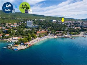 Appartamento Riviera di Rijeka (Fiume) e Crikvenica,Prenoti Dolly Da 50 €