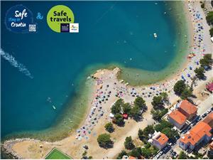 Alloggio vicino al mare Riviera di Rijeka (Fiume) e Crikvenica,Prenoti MARION Da 144 €
