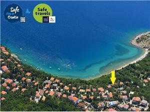 Дом INGA Jadranovo (Crikvenica), квадратура 70,00 m2, Воздуха удалённость от моря 80 m
