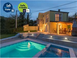 Willa Ana Zielona Istria, Domek na odludziu, Powierzchnia 100,00 m2, Kwatery z basenem
