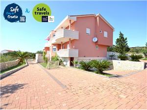 Apartmani Miroslav Novalja - otok Pag, Kvadratura 55,00 m2, Zračna udaljenost od centra mjesta 250 m