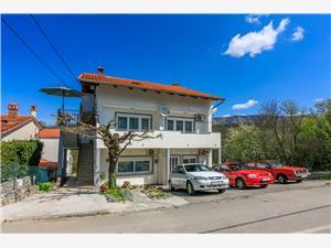 Appartementen Ratko Jadranovo (Crikvenica), Kwadratuur 50,00 m2, Lucht afstand tot de zee 150 m