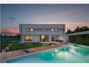 Villa Rosignola Sveta Nedelja, Superficie 145,00 m2, Hébergement avec piscine