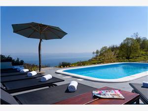 Soukromé ubytování s bazénem Riviéra Opatija,Rezervuj Tulipa Od 6933 kč