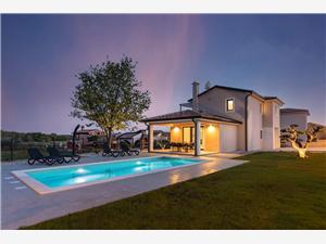 Villa Stefani голубые Истрия, квадратура 160,00 m2, размещение с бассейном