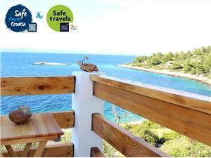 Hus Biondina Vela Luka - ön Korcula, Storlek 70,00 m2, Luftavstånd till havet 80 m