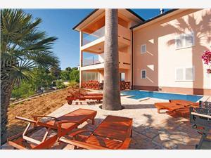 Huis Davorka Kvarner eilanden, Kwadratuur 130,00 m2, Accommodatie met zwembad