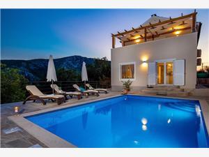 Haus Kiara Grižane, Größe 160,00 m2, Privatunterkunft mit Pool