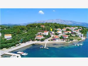 Apartman Doma Lumbarda - Korcula sziget, Méret 70,00 m2, Légvonalbeli távolság 50 m