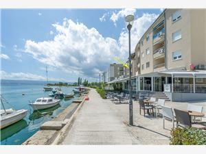 Ferienwohnungen Cetina Omis, Größe 38,00 m2, Entfernung vom Ortszentrum (Luftlinie) 500 m