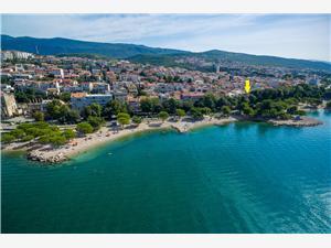 Apartament Beach house Crikvenica, Powierzchnia 80,00 m2, Odległość do morze mierzona drogą powietrzną wynosi 20 m, Odległość od centrum miasta, przez powietrze jest mierzona 150 m