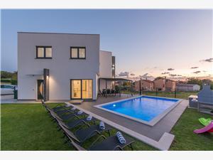 вилла Noa Kastelir, квадратура 110,00 m2, размещение с бассейном, Воздух расстояние до центра города 300 m