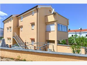 Appartements Aster Malinska - île de Krk, Superficie 86,00 m2
