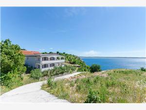 Ferienwohnungen Mira Starigrad Paklenica, Größe 50,00 m2, Luftlinie bis zum Meer 150 m