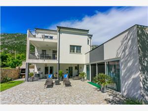 Vila Manea Tribalj, Prostor 400,00 m2, Soukromé ubytování s bazénem, Vzdušní vzdálenost od centra místa 800 m