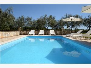 Apartmány Mariano Chorvatsko, Prostor 65,00 m2, Soukromé ubytování s bazénem
