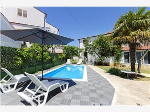 Ferienwohnung Milena Srima (Vodice), Größe 50,00 m2, Privatunterkunft mit Pool, Luftlinie bis zum Meer 190 m