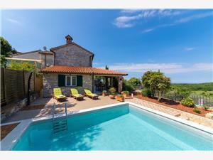 Villa Lilly Visnjan (Porec), квадратура 140,00 m2, размещение с бассейном