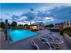 Villa Crystallina Umag, Méret 80,00 m2, Szállás medencével