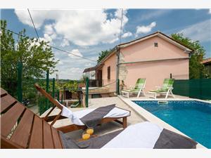 House Papinka Markoci, Méret 100,00 m2, Szállás medencével