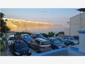Apartmani i Sobe Magdalena Sjevernodalmatinski otoci, Kvadratura 16,00 m2, Zračna udaljenost od mora 150 m, Zračna udaljenost od centra mjesta 150 m