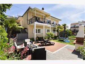 Апартаменты Ante Vodice, квадратура 80,00 m2, Воздуха удалённость от моря 200 m, Воздух расстояние до центра города 700 m