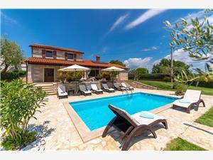 Villa Danijel Kastelir, Méret 145,00 m2, Szállás medencével
