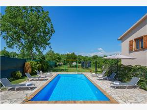 Villa Sadina Banki, Tinjan, Kvadratura 170,00 m2, Namestitev z bazenom