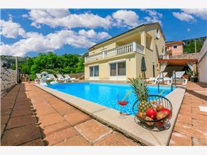 Vila Marta Grižane, Kvadratura 210,00 m2, Namestitev z bazenom