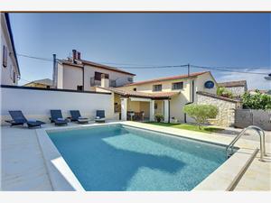 Villetta Valtura Liznjan, Größe 75,00 m2, Privatunterkunft mit Pool