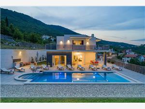 Villa Maru Martina, Brseč, Méret 500,00 m2, Szállás medencével