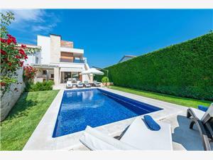 Villa Allegra Vabriga, Méret 169,00 m2, Szállás medencével