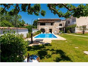 Villa K2n Baderna, Kvadratura 200,00 m2, Namestitev z bazenom