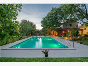 Villa Stancija Salamon Istrien, Größe 300,00 m2, Privatunterkunft mit Pool
