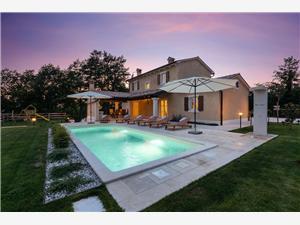 Villa Lucija Gračišće, Pazin, Powierzchnia 150,00 m2, Kwatery z basenem