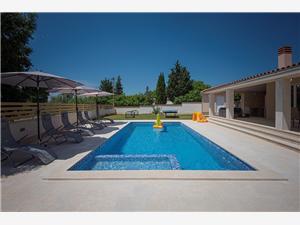 Villa Lu Vodnjan, Kvadratura 170,00 m2, Namestitev z bazenom