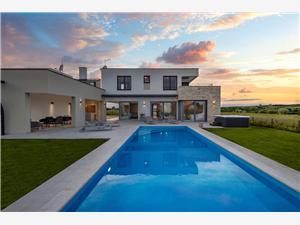 Villa Luna Verteneglio Kék Isztria, Méret 230,00 m2, Szállás medencével