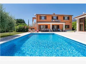 House Herceg Valica, Umag, Méret 165,00 m2, Szállás medencével