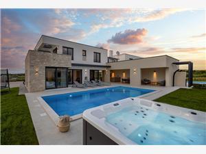 Villa Sole Verteneglio Kék Isztria, Méret 230,00 m2, Szállás medencével