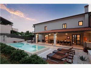 Villa Molindrio Porec, Superficie 160,00 m2, Hébergement avec piscine
