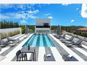 Villa Dea Zelená Istria, Rozloha 220,00 m2, Ubytovanie sbazénom