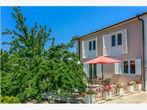 Dom Milenka Banjol - ostrov Rab, Rozloha 80,00 m2, Vzdušná vzdialenosť od mora 80 m