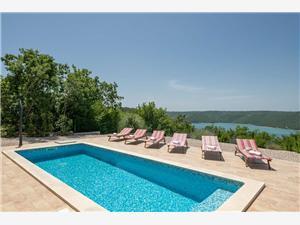 Villa Valente Zelená Istria, Rozloha 220,00 m2, Ubytovanie sbazénom