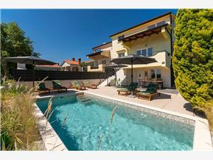 Villa Nadia Visnjan (Porec), квадратура 160,00 m2, размещение с бассейном