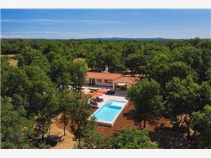 Villa Martinetinka Vodnjan, Kvadratura 66,00 m2, Namestitev z bazenom