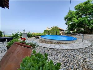 Maison Mikleus Lovran, Maison de pierres, Superficie 113,00 m2, Hébergement avec piscine