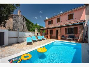 Casa Oleandar Barban, Prostor 120,00 m2, Soukromé ubytování s bazénem