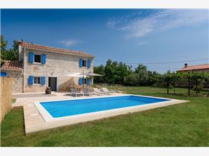 Willa Villa Laura Labin, Powierzchnia 105,00 m2, Kwatery z basenem