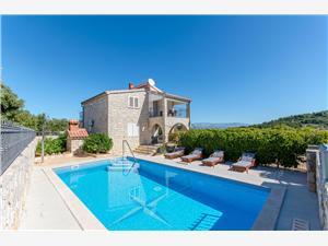 Apartament Jakov Rogac - wyspa Solta, Powierzchnia 40,00 m2, Kwatery z basenem, Odległość do morze mierzona drogą powietrzną wynosi 50 m