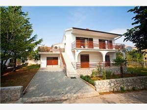 Apartmaj Josip Krk - otok Krk, Kvadratura 70,00 m2, Oddaljenost od centra 100 m